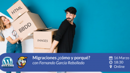 [ONLINE] Migraciones ¿cómo y porqué?