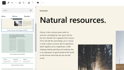 Gutenberg 10.5 Embeds PDFs, Adds Verse Block Color Options, and Introduces New Patterns