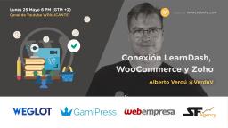 CRM para tu escuela online: conexión LearnDash, WooCommerce y Zoho