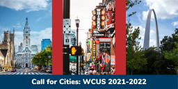 Call for Cities for WCUS 2021-2022