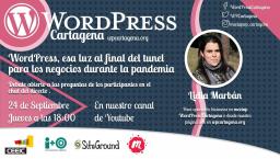 WordPress, luz al final del tunel para los negocios locales durante una pandemia