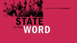 El 17 de diciembre se celebra el State of the Word 2020