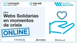 Webs solidarias en momentos de crisis