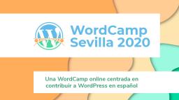 WordCamp Sevilla Online 2020