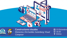 [ONLINE] Constructores visuales: Gutenberg, Elementor, Divi Builder y WPBakery