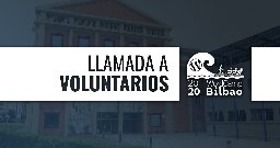 Llamada a voluntarios/as
