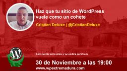 Haz que tu sitio de WordPress vuele como un cohete