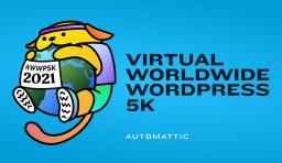 Worldwide WordPress Virtual 5K Set for October 1-30, 2021