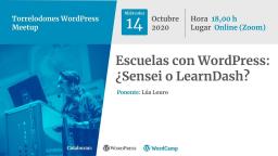 Escuelas con WordPress: ¿Sensei o LearnDash?