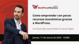 Cómo emprender con pocos recursos económicos gracias a WordPress
