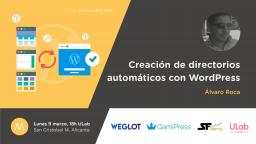 Creación de directorios automáticos con WordPress