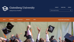 FSE Outreach Round #9: Building a Higher Ed Header