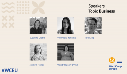 First group of #WCEU speakers – Business