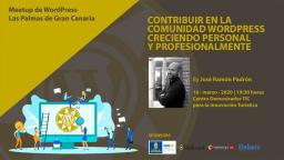 Contribuir en la comunidad WordPress creciendo personal y profesionalmente