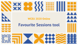 Create your own WCEU 2020 Online schedule