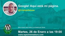 Google! Aquí está mi página