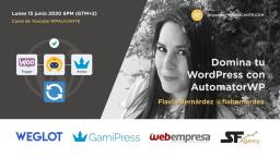 [ONLINE] Controla tu WordPress con AutomatorWP, el Zapier para WordPress  😱