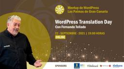 [ONLINE] WordPress Translation Day con Fernando Tellado
