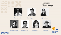Fourth group of #WCEU speakers – Design