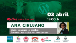 Vaca, xovenca e pucha: fuentes variables en WordPress