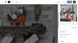 Gutenberg 9.5 Improves Site Editor and Adds New Options for Cover and Code Blocks