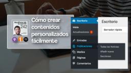 242   La forma más fácil y rápida de crear custom post types y taxonomías