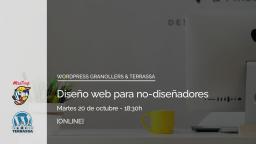 [ONLINE] Diseño web para no-diseñadores