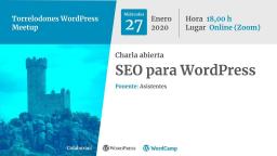 Charla abierta: SEO para WordPress