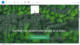 Gutenberg 8.2 Includes Editing Flow Improvements, Cover Block Content Positioning, and Pattern Categories