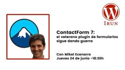 ContactForm 7: el veterano  plugin de formularios sigue dando guerra