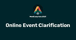 Online Event Clarification