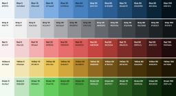 Standardization of WP-Admin colors in WordPress5.7