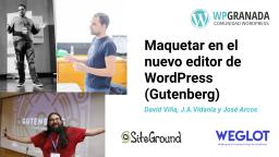 Maquetar en el Editor de WordPress (Gutenberg)