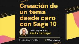 Creación de un tema desde cero con Sage 10
