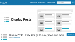[ONLINE] Plugin Display Posts