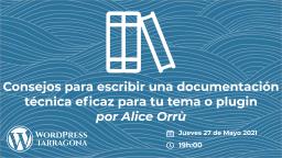 Escribir una documentación técnica eficaz: ¿lo estás haciendo bien? - Alice Orrù