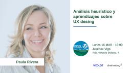 Análisis heurístico y aprendizajes sobre UX design